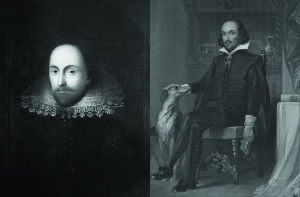 Side-by-side, here they are, two new Shakespeares ... maybe. (Image courtesy of Discovery News)